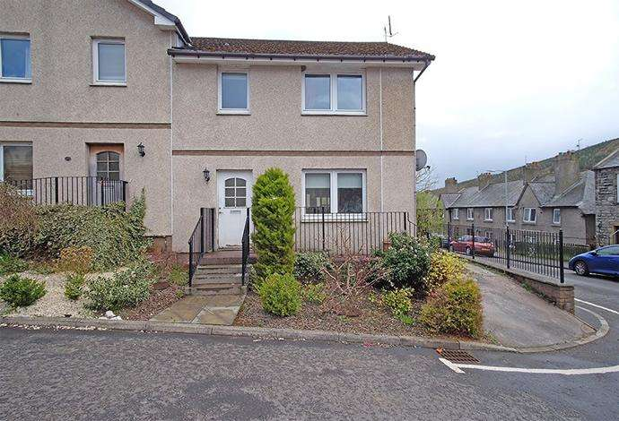 3 Bedrooms Semi Detached House for sale in 8 Tweedbank Court, Walkerburn EH43 6AQ
