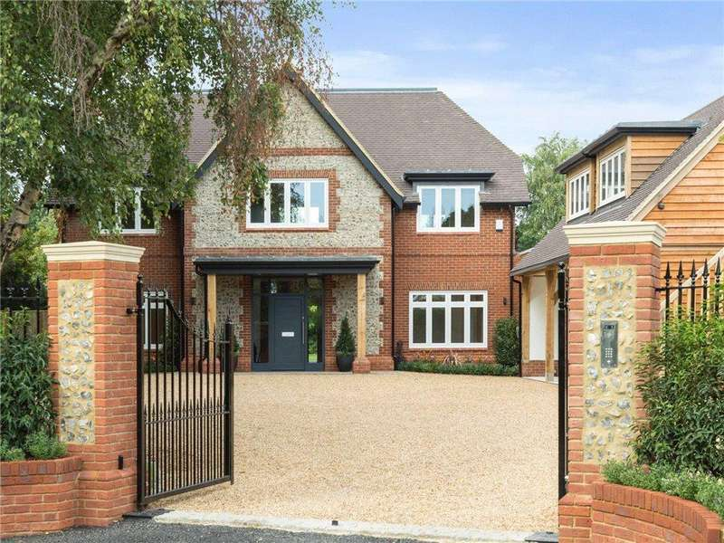 6 Bedrooms Detached House for sale in Boughton Hall Avenue, Send, Woking, Surrey, GU23