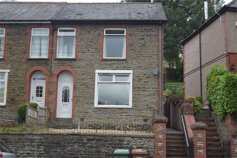 3 Bedrooms Semi Detached House for sale in New Road, Argoed, Blackwood