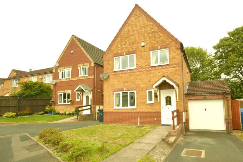 3 Bedrooms Detached House for sale in Fuchsia Drive, Pendeford, Wolverhampton, WV9