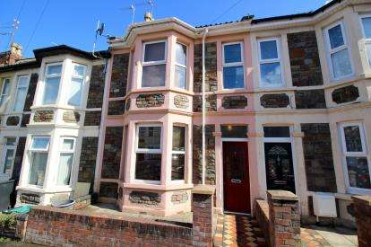3 Bedrooms Terraced House for sale in Chatsworth Road, Arnos Vale, Bristol, United Kingdom