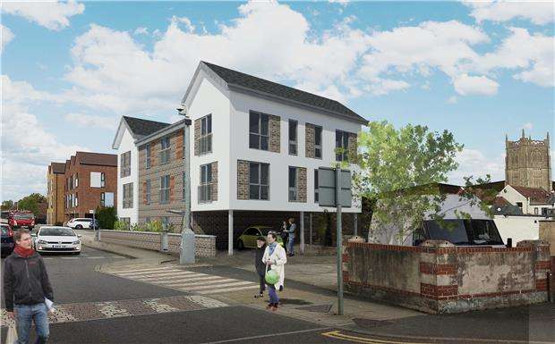2 Bedrooms Flat for sale in Danes Lane, Keynsham, BRISTOL, BS31 2BA
