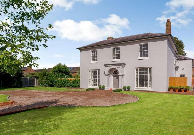 5 Bedrooms Detached House for sale in Old Road, Worcester, Worcestershire
