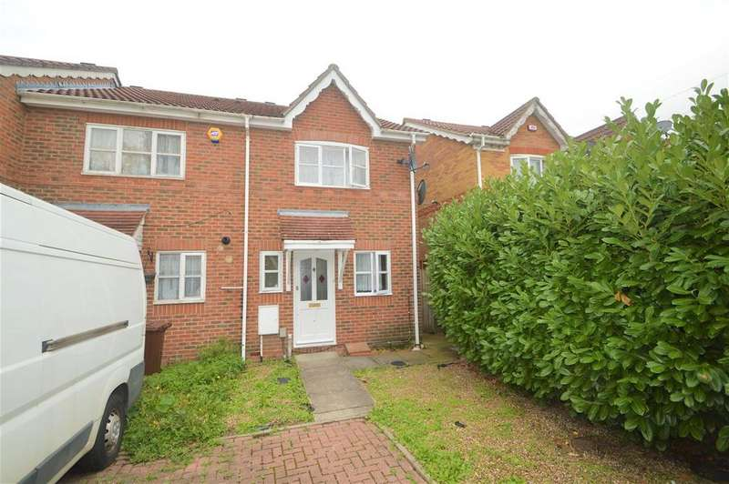 2 Bedrooms End Of Terrace House for sale in Wanderer Drive, Barking