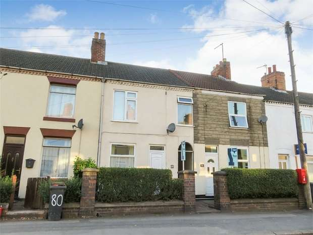 3 Bedrooms Terraced House for sale in Belvoir Road, Coalville, Leicestershire