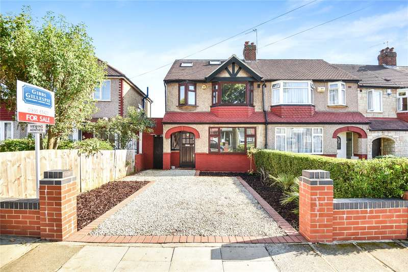 4 Bedrooms End Of Terrace House for sale in Castle Road, Northolt, Middlesex, UB5