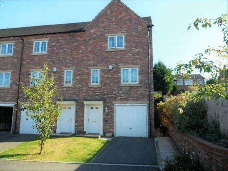 4 Bedrooms Terraced House for sale in Whitehead Close, Sileby