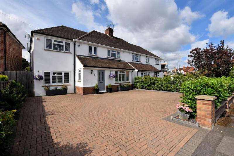 4 Bedrooms Semi Detached House for sale in Crescent Road, Tilehurst, Reading