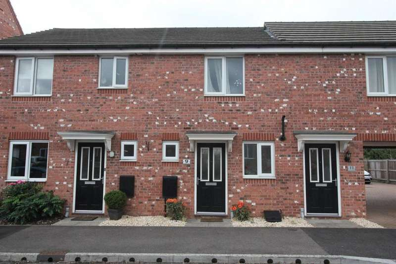 2 Bedrooms End Of Terrace House for sale in Sansome Drive, Hinckley