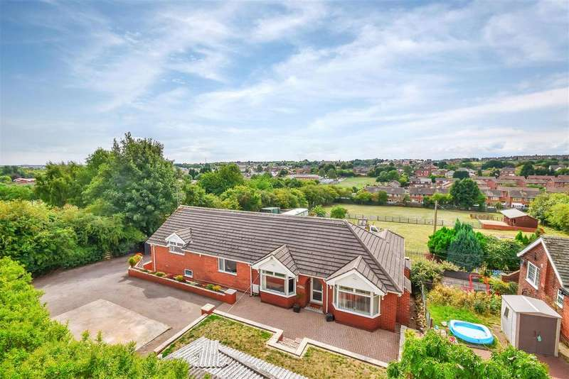 4 Bedrooms Detached Bungalow for sale in Granville, Thickley Bank, Langwith Junction