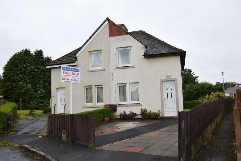 2 Bedrooms Semi-detached Villa House for sale in STANLEY DRIVE, BELLSHILL ML4