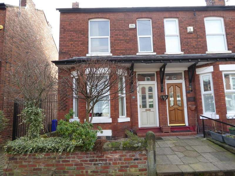 2 Bedrooms End Of Terrace House for sale in Limley Grove, Chorlton