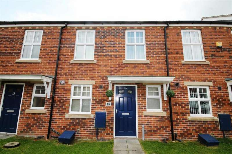 2 Bedrooms Terraced House for sale in Rudkin Drive, Crook