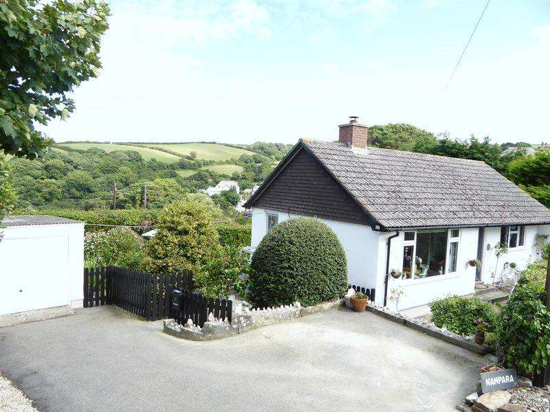 2 Bedrooms Detached Bungalow for sale in Potters Lane, Boscastle