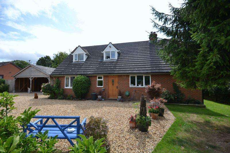 4 Bedrooms Detached Bungalow for sale in Edwyn Ralph, Bromyard