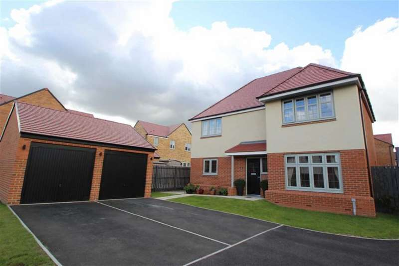 4 Bedrooms Detached House for sale in Deleval Crescent, Earsdon View, Shiremoor, NE27