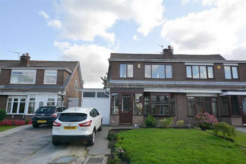 3 Bedrooms Semi Detached House for sale in Renfrew Close, Hawkley Hall, Wigan, WN3