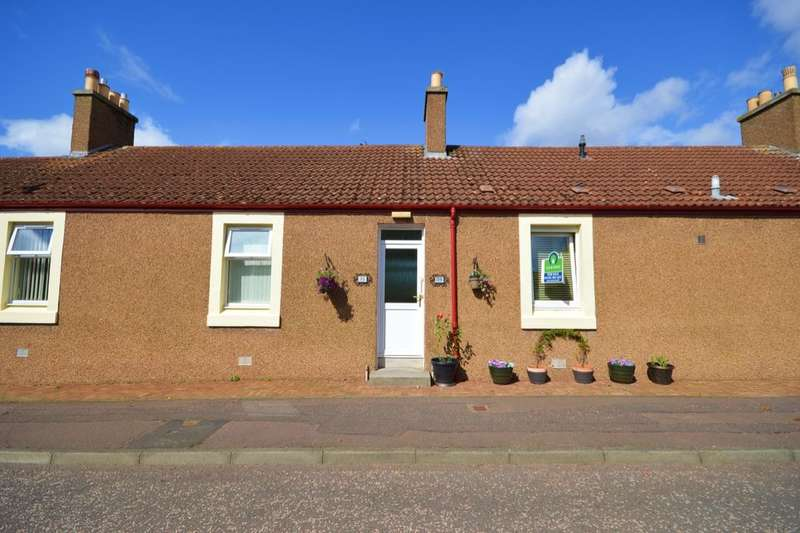 1 Bedroom Bungalow for sale in Approach Row, East Wemyss, Kirkcaldy, KY1