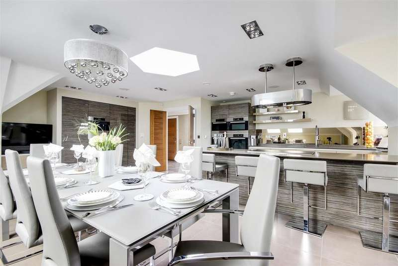 3 Bedrooms Penthouse Flat for sale in Green Dragon Lane, Winchmore Hill, N21