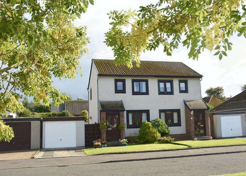 2 Bedrooms Semi-detached Villa House for sale in Abbots Crescent, Doonfoot, Ayr