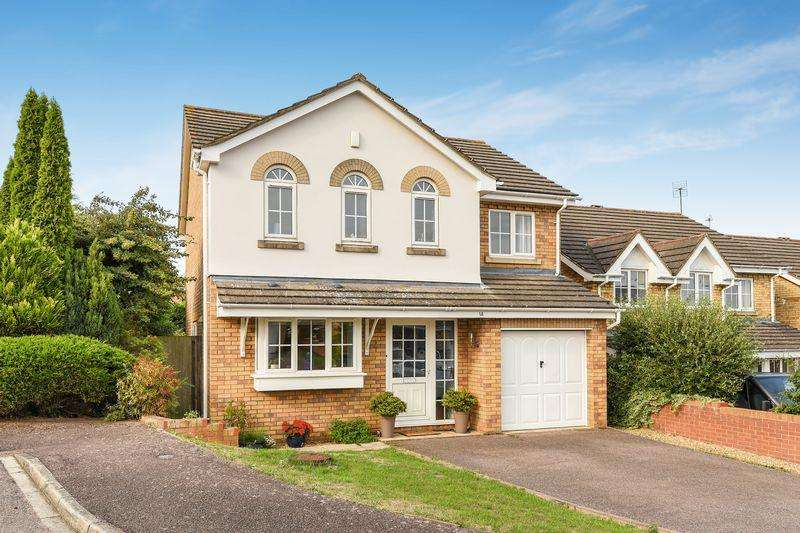 4 Bedrooms Detached House for sale in Wingate Drive, Ampthill