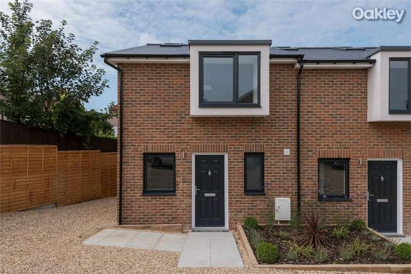 2 Bedrooms Semi Detached House for sale in Kimberley Mews, Kimberley Road, Brighton