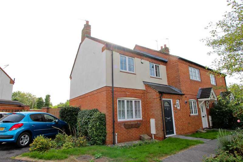 3 Bedrooms Semi Detached House for sale in Brook Drive, Ratby