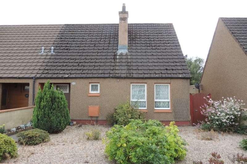 2 Bedrooms Semi Detached House for sale in Birnie Place, Mosstodloch, Fochabers, IV32