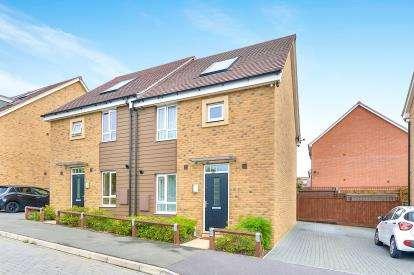 3 Bedrooms Semi Detached House for sale in Twiselton Heath, Wolverton, Milton Keynes, Buckinghamshire