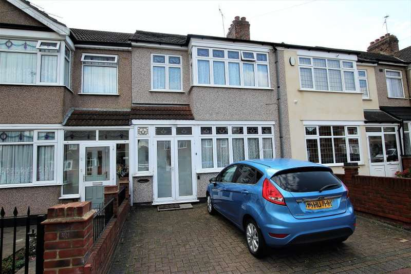 3 Bedrooms Terraced House for sale in Lawrence Crescent, Dagenham, RM10 7HJ