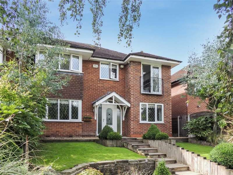 4 Bedrooms Semi Detached House for sale in Bunkers Hill, Romiley, Stockport