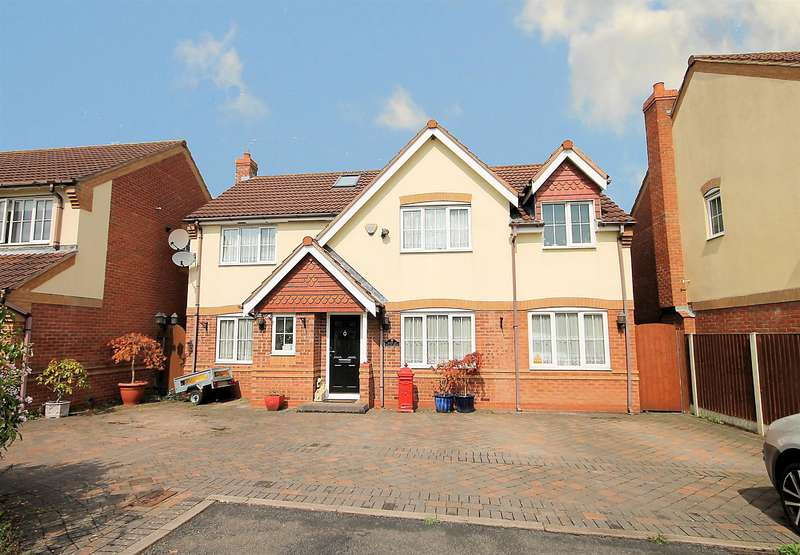 6 Bedrooms Detached House for sale in Talland Avenue, Amington Fields, Tamworth, B77 3RB