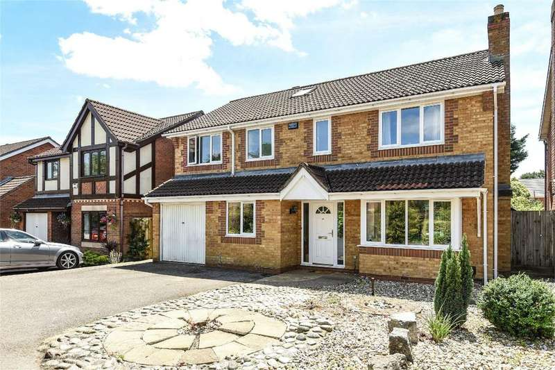 5 Bedrooms Detached House for sale in Symonds Close, Chandler's Ford, Hampshire, SO53