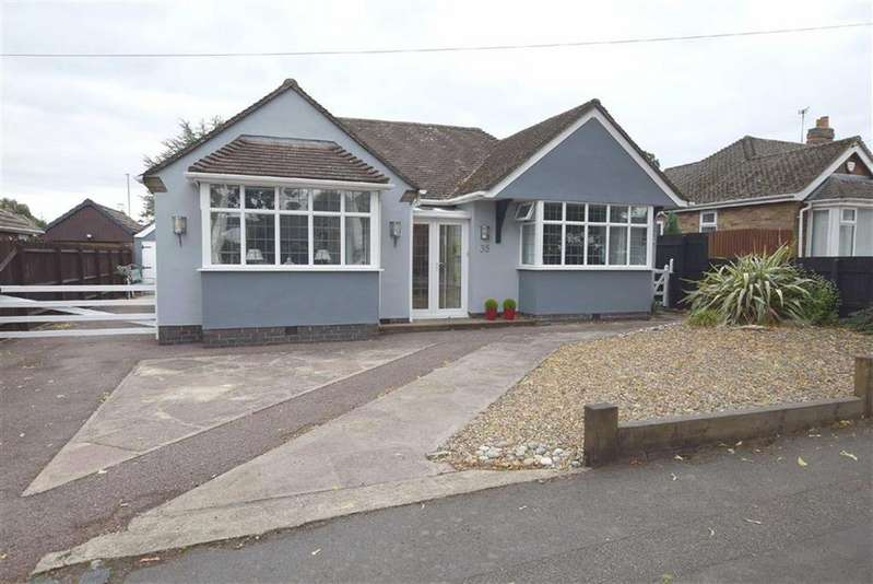 4 Bedrooms Detached Bungalow for sale in Greenmoor Road, Burbage, Leicestershire