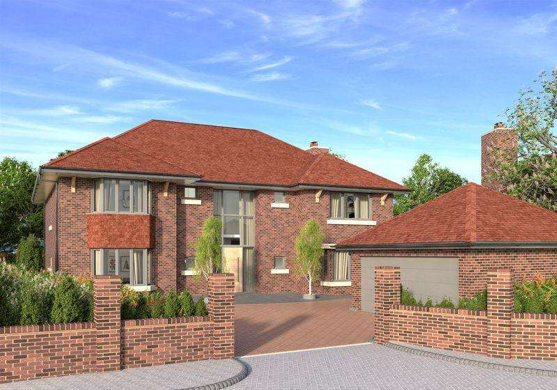 5 Bedrooms Detached House for sale in Burgh Heath Road, Epsom