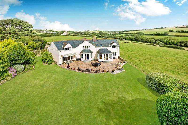 4 Bedrooms Detached House for sale in South Milton, Kingsbridge, Devon, TQ7
