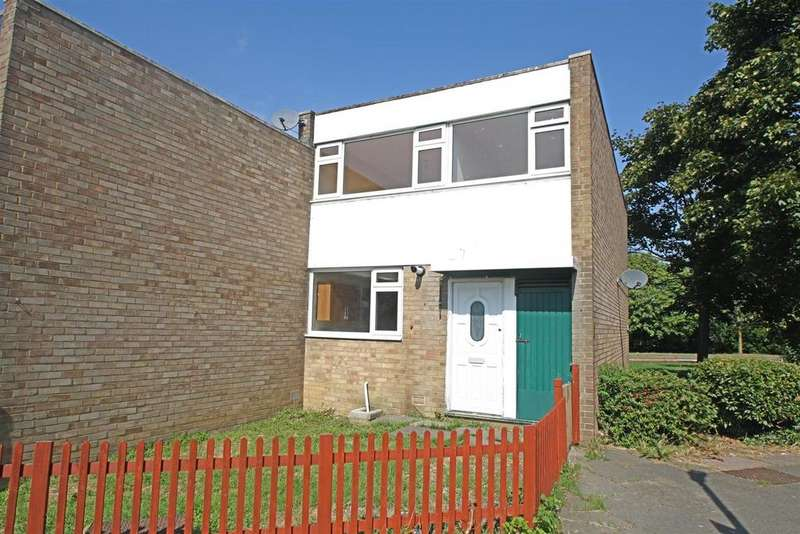 3 Bedrooms End Of Terrace House for sale in Mentieth Close, Bletchley, Milton Keynes