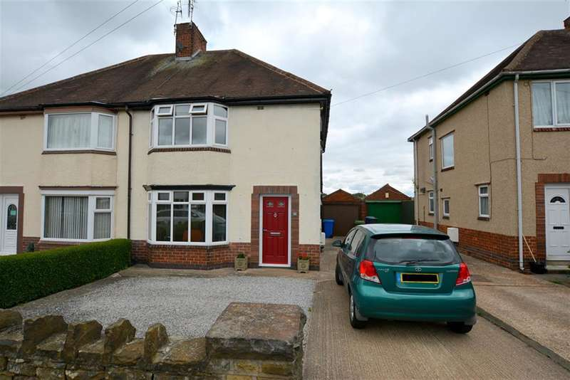 3 Bedrooms Semi Detached House for sale in Newbold Back Lane, Chesterfield, S40 4HH