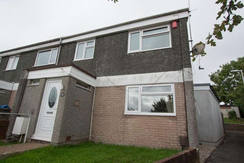 3 Bedrooms End Of Terrace House for sale in Clifford Close, Plymouth