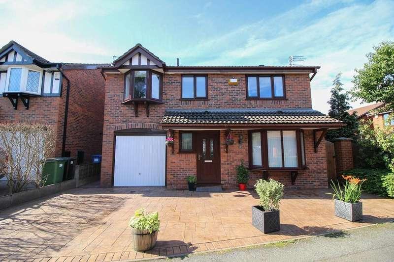 4 Bedrooms Detached House for sale in Aspenwood Close, Marple, Stockport, SK6