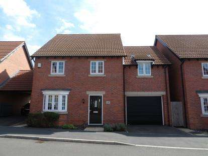 4 Bedrooms Detached House for sale in Hallaton Drive, Syston, Leicester, Leicestershire