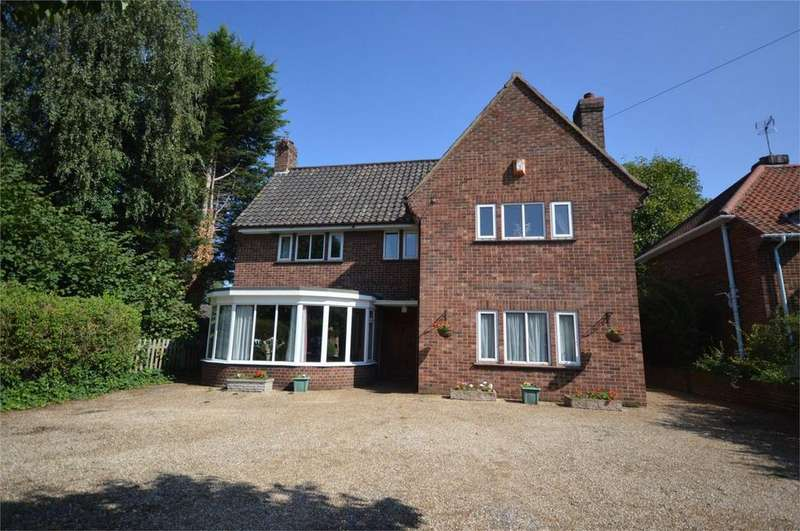 5 Bedrooms Detached House for sale in Daniels Road, Norwich