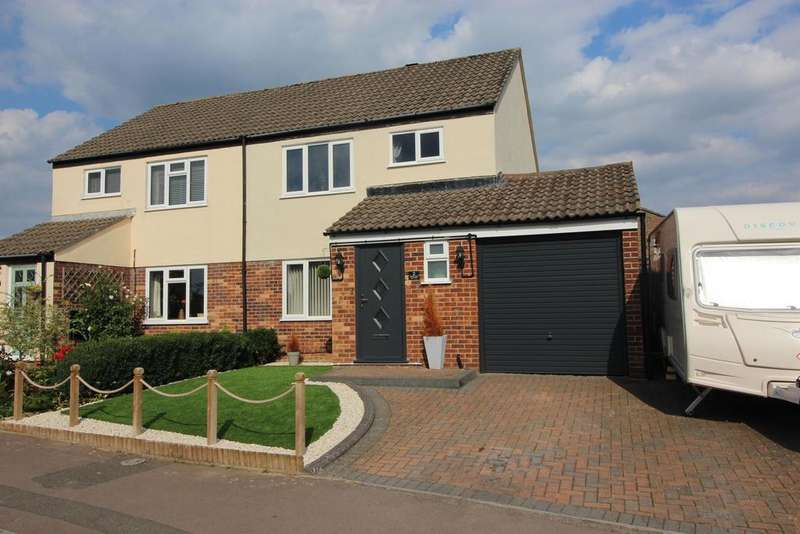 3 Bedrooms Semi Detached House for sale in Crowthers Avenue, Yate, Bristol, BS37 5SZ