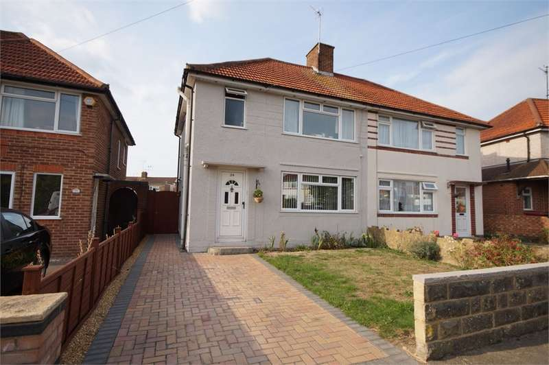 3 Bedrooms Semi Detached House for sale in Greenfields Road, READING, Berkshire