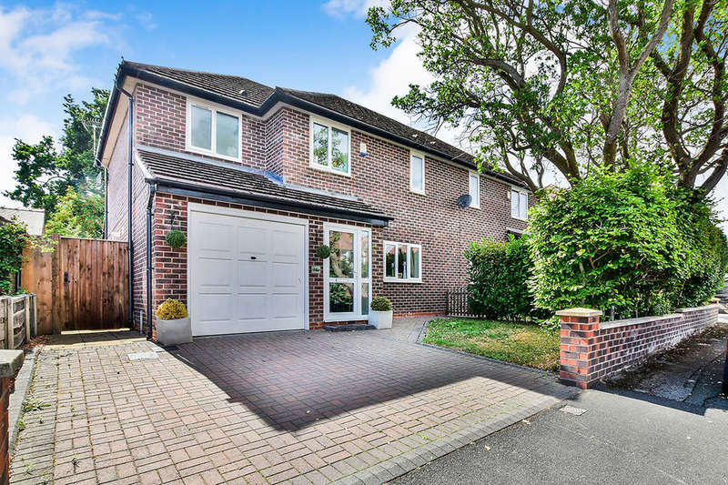 4 Bedrooms Semi Detached House for sale in Marlow Drive, Handforth, Wilmslow, SK9