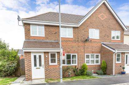 3 Bedrooms Semi Detached House for sale in Regency Square, Warrington, Cheshire