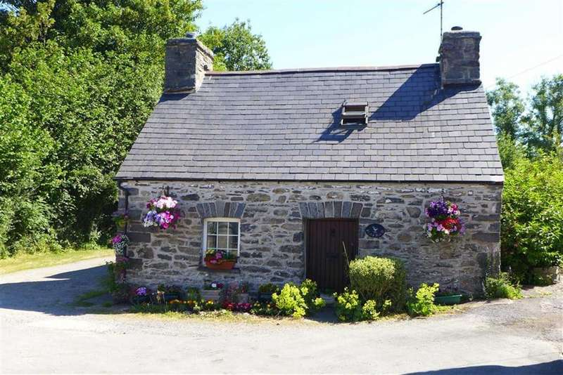 2 Bedrooms Semi Detached House for sale in Pentre Isaf, Tregaron, Ceredigion, SY25