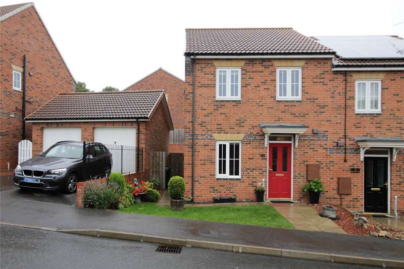 3 Bedrooms Semi Detached House for sale in Deepdale Drive, Consett, County Durham, DH8