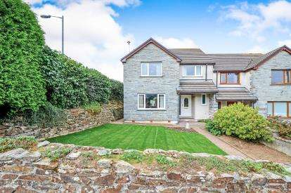 4 Bedrooms Semi Detached House for sale in Berrycoombe Hill, Bodmin, Cornwall