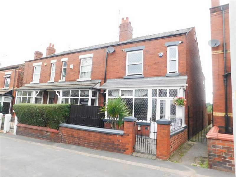 3 Bedrooms Semi Detached House for sale in Stockport Road West, Bredbury, Stockport